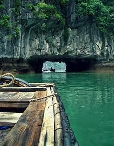 Sea Cave Tunnel  Thailand