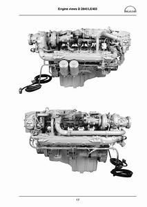Man Marine Diesel Engine D 2848 Le 403 Service Repair Manual