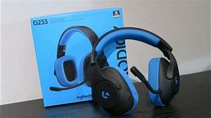Logitech G233 Prodigy Wired Gaming Headset Unboxing YouTube