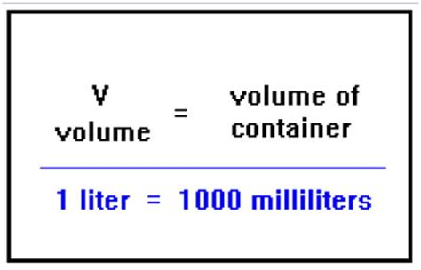 a volume of 1500 milliliters is equal to how many liters socratic