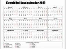 Download Free 2019 Calendar Kuwait Holiday November 2019