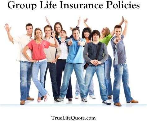 group life insurance policies