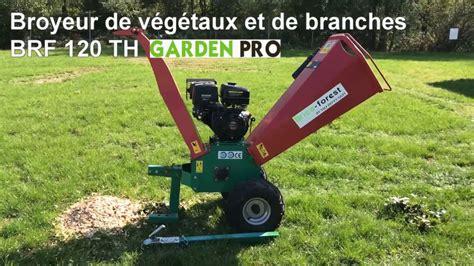 broyeur de branches electrique broyeur de v 233 g 233 taux et de branches brf 120 th garden pro