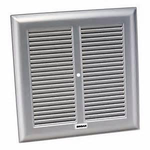 broan bp24 exhaust fan grille metal 10 1 4 in square ebay