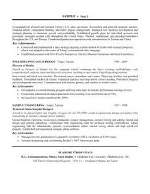 production resume keywords product manufacturing resume exle