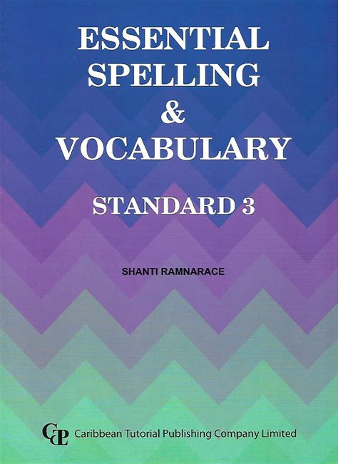 essential spelling vocabulary standard  caribbean