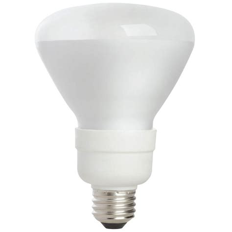 ecosmart 65w equivalent soft white br30 medium base cfl