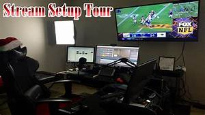 Live Streaming Setup tour (updated) - YouTube