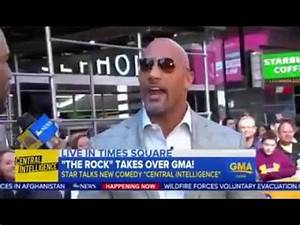Watch what happens when me & Dwayne The Rock Johnson ...