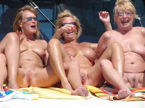 mature group boat trip