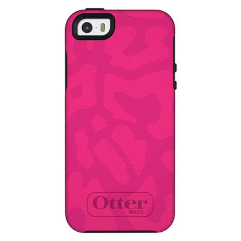 otterbox for iphone 5s otterbox symmetry for apple iphone 5s 5 cheetah pink