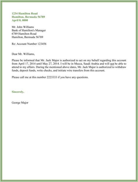 authorization letter templates public