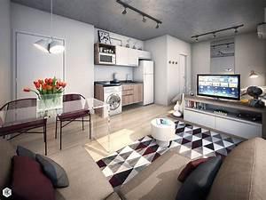 geometric-studio-apartment-decor - TheyDesign net