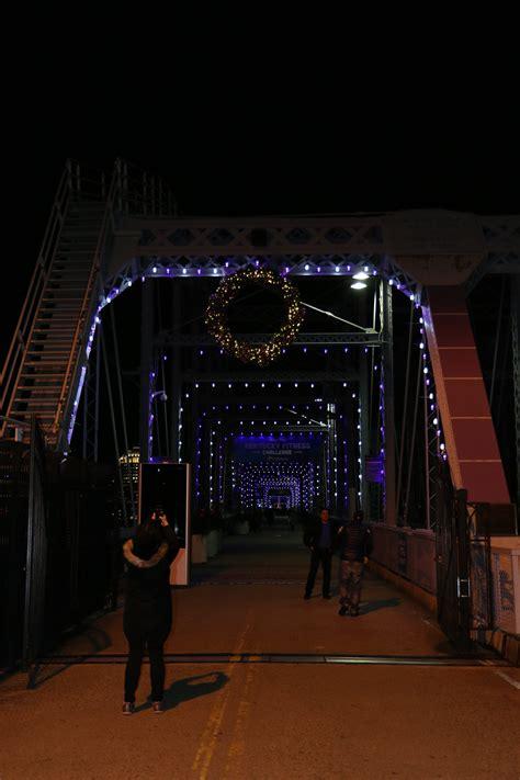 light up the night it s the purple people bridge
