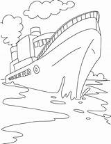 Coloring Ship Cruise Boat Drawing Speed Disney Ships Cargo Container Sheets Titanic Printable Worksheets Shipwreck Drawings Para Bestcoloringpages Fishing Outline sketch template