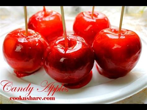 Candy Apples - YouTube