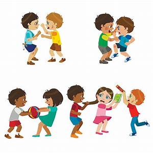 Clipart Kids Fighting & Clip Art Kids Fighting Images ...