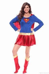 Sexy Women Superhero Supergirl Costume Wonder Woman ...