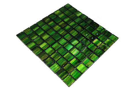 Bärwolf Glasmosaikfliesen Gl13001 Emerald Green Mosaic