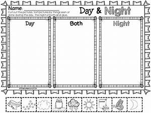 Day and Night Objects in the Sky   Science notebooks ...