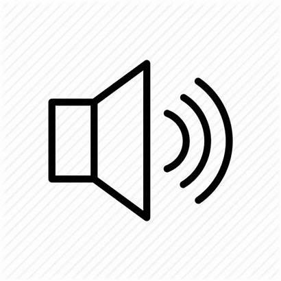 Icon Speaker Speakers Sound Loud Loudspeaker Outline