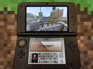 Minecraft Runing On A Nintendo 3DS By Blenden92 On DeviantArt