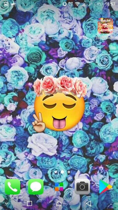 emoji wallpapers cute backgrounds  android