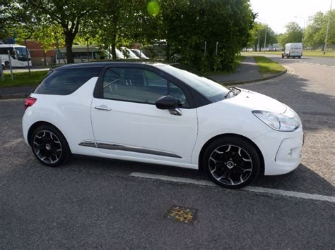 White Citroen Ds3 by Used White Citroen Ds3 For Sale Hshire