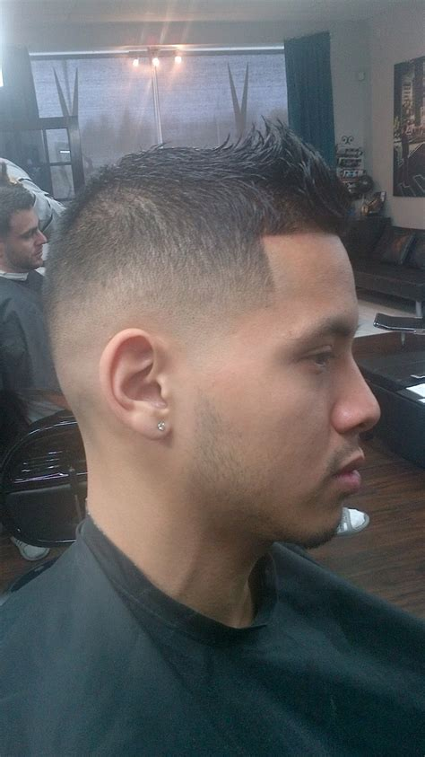Mid Bald Fade Rylc Barber Styling Hair Cuts Fade