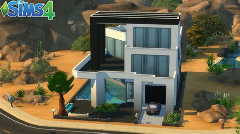 les sims 3 maison moderne les sims 4 maison moderne construction speed build