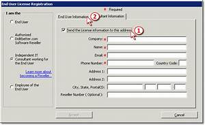 Add2exchange Install Guide  U0026gt  License Menu