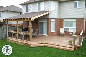 Simple covered deck House Inspiration Pinterest The