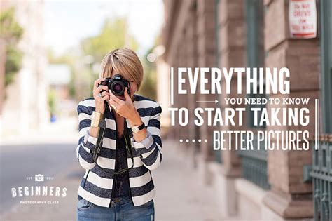 Win A Free Photography Class  Beginners Photography Class