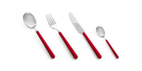 fantasia red rosso  fantasia flatware  flatware sets