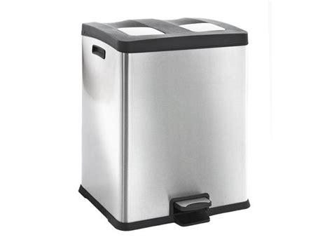 corbeille poubelle de cuisine 224 tri s 233 lectif 2 x 30 litres 224 p 233 dale contact emrodis