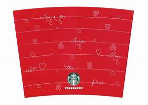 starbucks create your own tumbler valentins kubek With create your own tumbler template