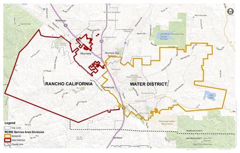 Service California by Service Area Rancho California Water District Ca
