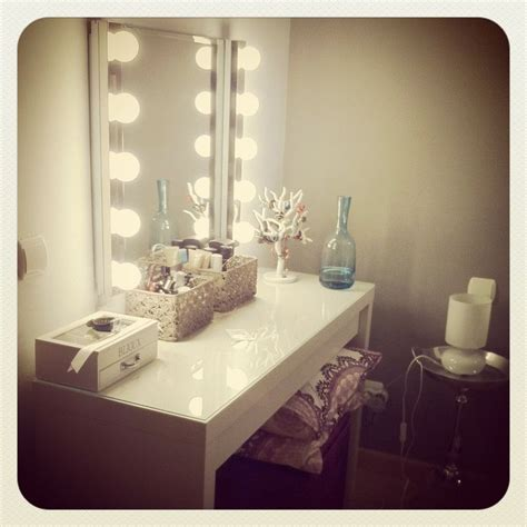 Vanity Desk With Lights Ikea by Ikea Dressing Table Vanity Lights تسريحات