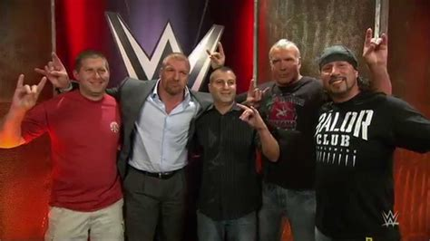 the kliq surprises the wwe fans who recorded the msg