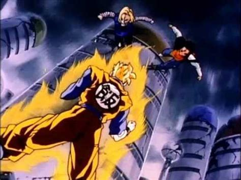 history  trunks future gohan  androids theme youtube