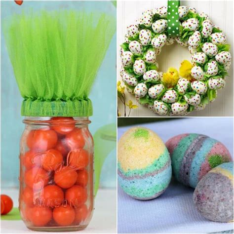 quick  easy easter crafts   ideas
