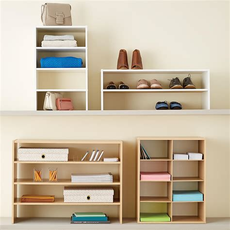Natural 8pair Shoe Organizer  The Container Store