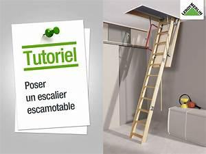 Escalier Escamotable Grenier : escalier electrique pour grenier ~ Melissatoandfro.com Idées de Décoration