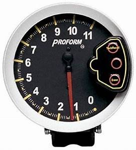 Amazon Com  Proform 67002c Racing Tachometer  5 U0026quot   11