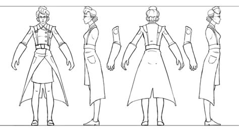 blender male template figure 23 concept sheet for the medic