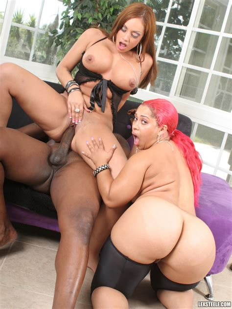 Busty Big Ass Threesome