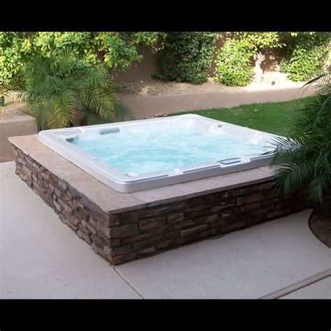 ground spa hot tubs  spas  pinterest