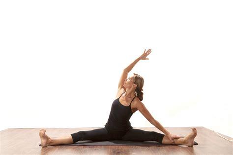 Wide Leg Seated Side Stretch