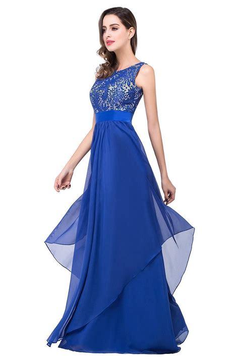 lace chiffon cheap evening dress  bridesmaid dresses