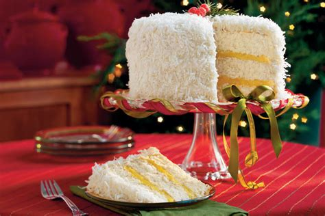 lemon coconut cake white christmas desserts southern